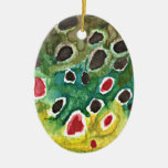 Brown Trout Fish Ornament