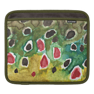 Brown Trout Fish Sleeve For iPads