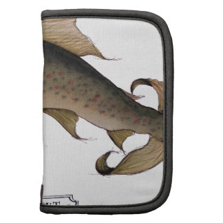 Brown Trout fish, tony fernandes Folio Planners