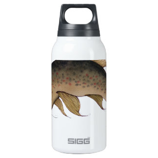 Brown Trout fish, tony fernandes Thermos Water Bottle