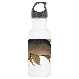 Brown Trout fish, tony fernandes Water Bottle