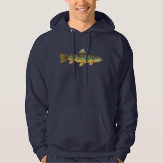 Brown Trout Fisherman's Hoodie