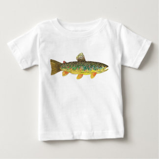 Brown Trout Fishing Baby T-Shirt