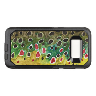 Brown Trout Fishing, Ichthyology OtterBox Commuter Samsung Galaxy S8 Case