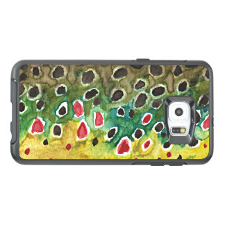 Brown Trout Fishing, Ichthyology OtterBox Samsung Galaxy S6 Edge Plus Case