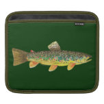 Brown Trout Fishing iPad Sleeves