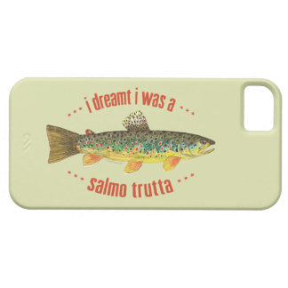 Brown Trout Fishing iPhone SE/5/5s Case