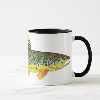 Brown Trout Fishing Mug