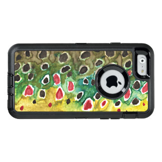 Brown Trout Fishing OtterBox iPhone 6/6s Case