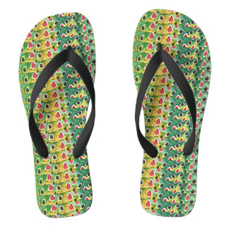 Brown Trout Fly Fisherman's Flip Flops