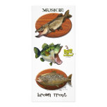 Brown Trout Full Color Rack Card