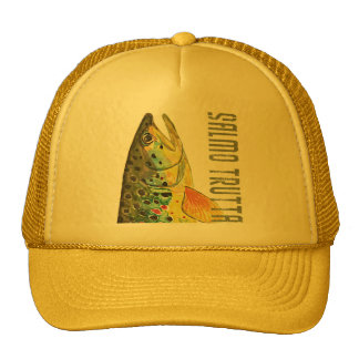 Brown Trout Ichthyology, Fishing, Fly Fishing Hats