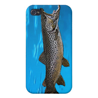 Brown Trout Case For iPhone 4