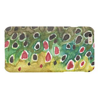 Brown Trout Matte iPhone 6 Plus Case