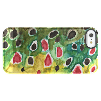Brown Trout Uncommon Clearly™ Deflector iPhone 5 Case
