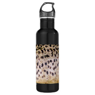 Brown Trout Scales Stainless Steel Water Bottle