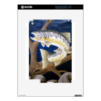 Brown Trout Skins For iPad 2