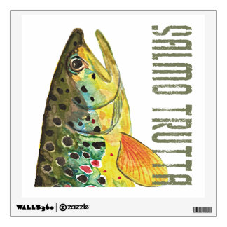 .Brown Trout Wall Decal