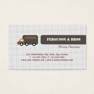 Brown Truck Business Card