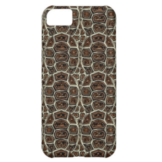 Brown Turtle Shell Pattern iPhone 5C Case