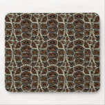 Brown Turtle Shell Pattern Mouse Pads