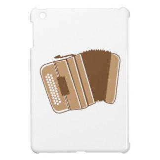 Brown vintage accordion iPad mini cover