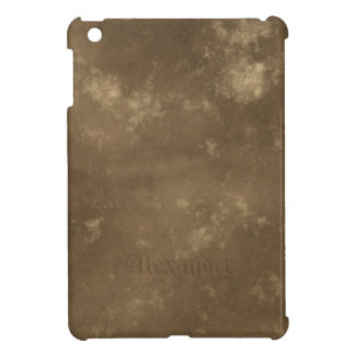 Brown Vintage Leather Look Case For The iPad Mini