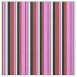 [ Thumbnail: Brown, Violet, Light Slate Gray, White & Black Fabric ]
