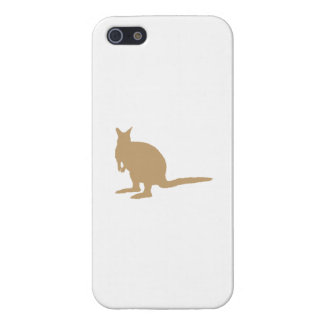 Brown Wallaby. Cover For iPhone 5