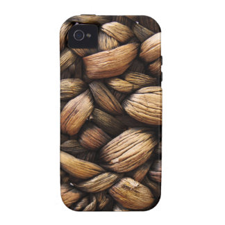 Brown Walnut Shells Case For The iPhone 4