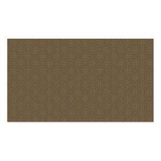 Brown warp business card templates