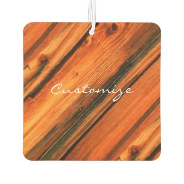 Beach Themed brown weathered board Thunder_Cove Air Freshener