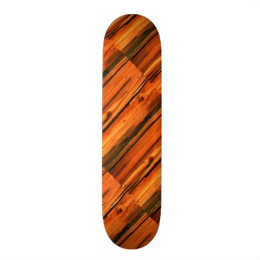 Beach Themed brown weathered boards Thunder_Cove Skateboard