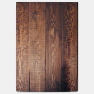 Brown Weathered Wood Wall Texture Post-it Notes