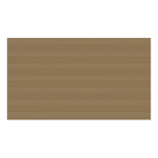 Brown Weave Pattern Business Card