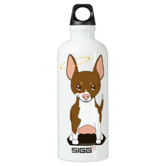Brown White Chihuahua Angel SIGG Traveler 0.6L Water Bottle