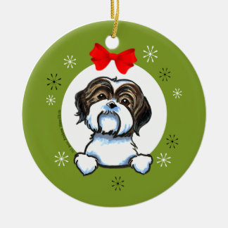 Shih Tzu Ornaments & Keepsake Ornaments | Zazzle