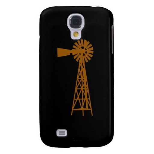 Brown Windmill.png Funda Para Galaxy S4