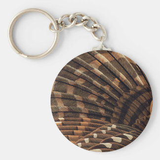 Brown Wing Detail Key Chains
