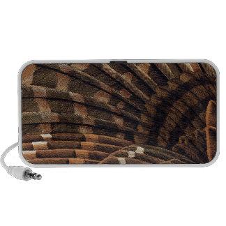 Brown Wing Detail Mp3 Speaker