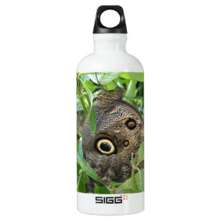 Brown Winged Butterfly SIGG Traveler 0.6L Water Bottle