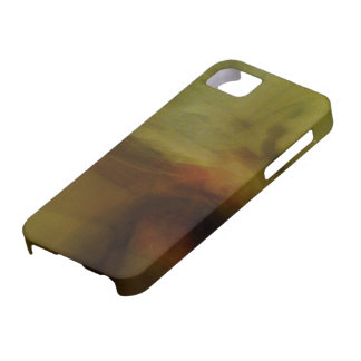 Brown wiping sample with colour tone iPhone SE/5/5s case