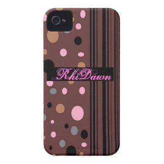 Brown with Dots Case