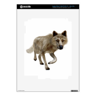 Brown Wolf Skins For iPad 3