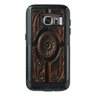 Brown Wood Image OtterBox Galaxy S7 Case