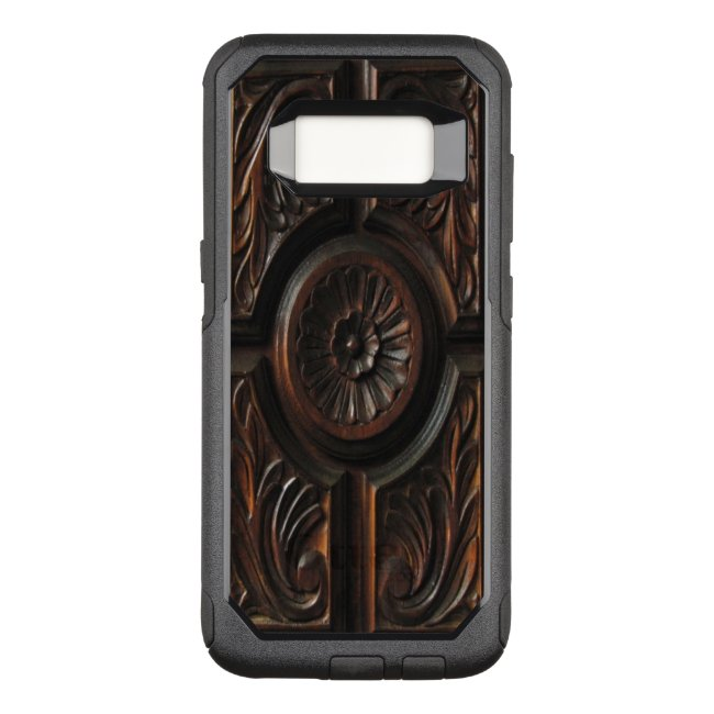 Brown Wood Image OtterBox Galaxy S8 Case
