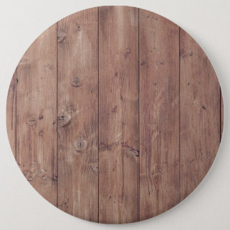 Brown wood wall texture button