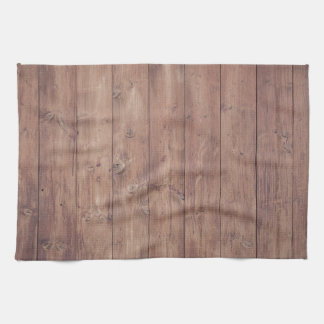 Brown wood wall texture hand towel