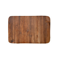 Brown Wood Wall Texture Structure Bathroom Mat