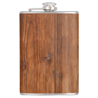 Brown Wood Wall Texture Structure Flask